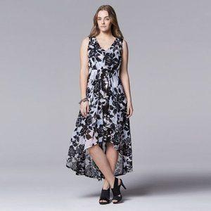 Vera Wang Floral Maxi Dress